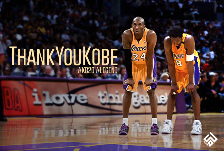 #ThankYouKobe