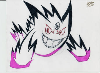 Tribal Mega Gengar by lord9000