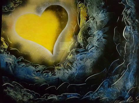 Kingdom Hearts Spray Art