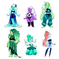 LOWERED Gem Adopts Batch #2 (CLOSED) by AlyOnyxTwo