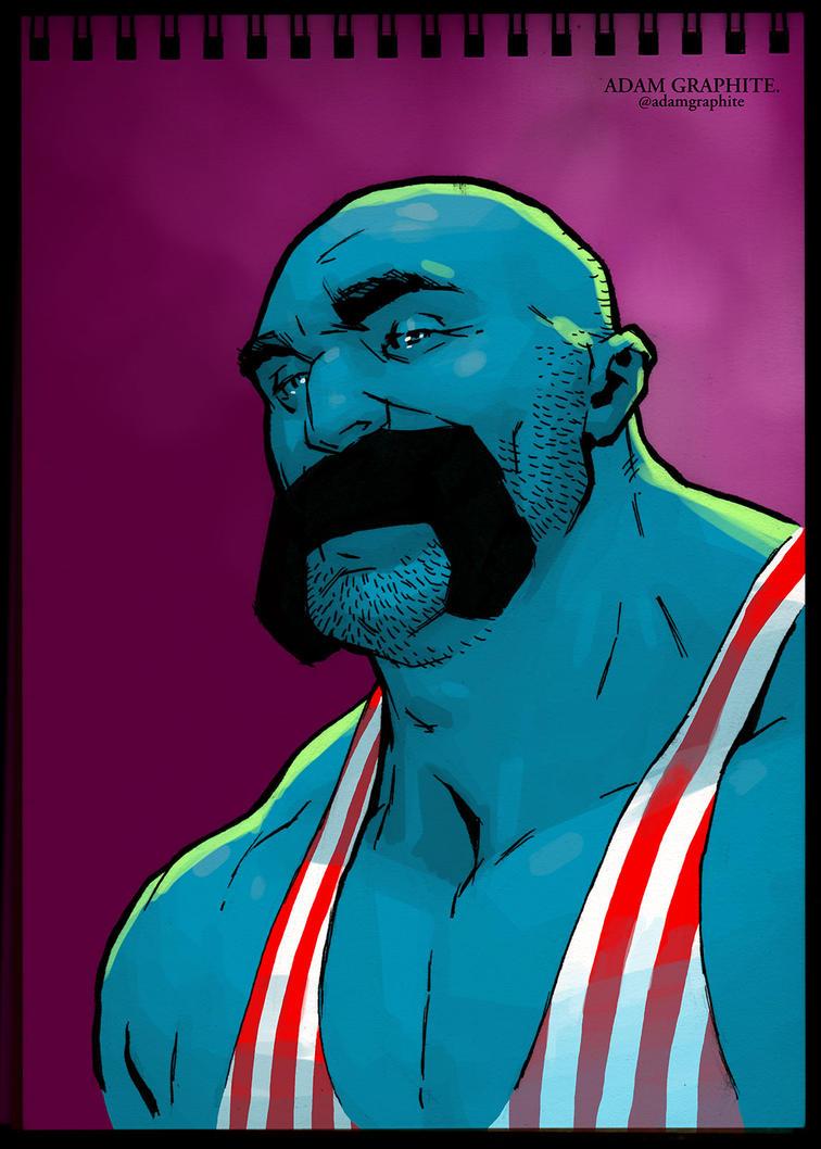 Strongman by AdamGraphite on DeviantArt