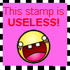 USELESS stamp by samsmash44