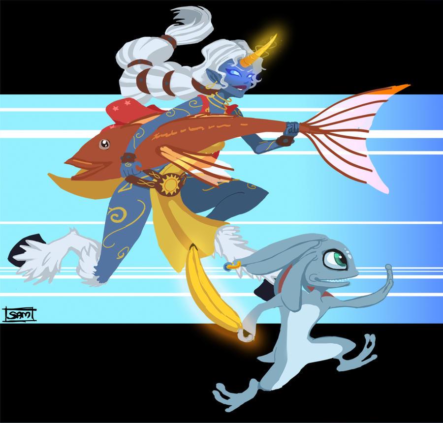 League of Legends - Weapon Swap Alt Version by busubusu