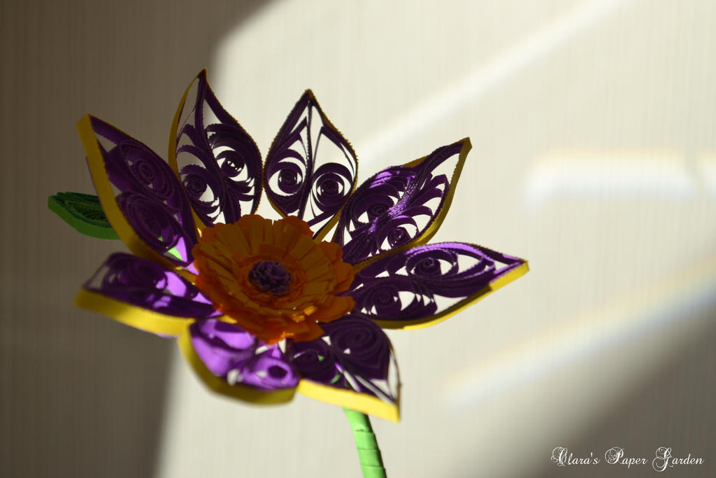 Simple flower by cridiana
