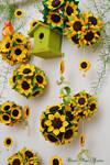 My sunflower garden