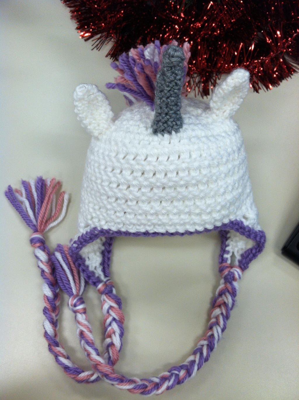 Crochet Pattern For A Unicorn Hat : Unicorn Baby Hat - crochet by NerdStitch on deviantART