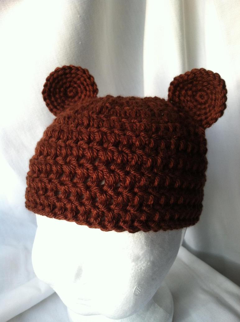 Free Crochet Patterns Teddy Bear Hat : Crochet Baby Hat - Teddy Bear by NerdStitch on deviantART