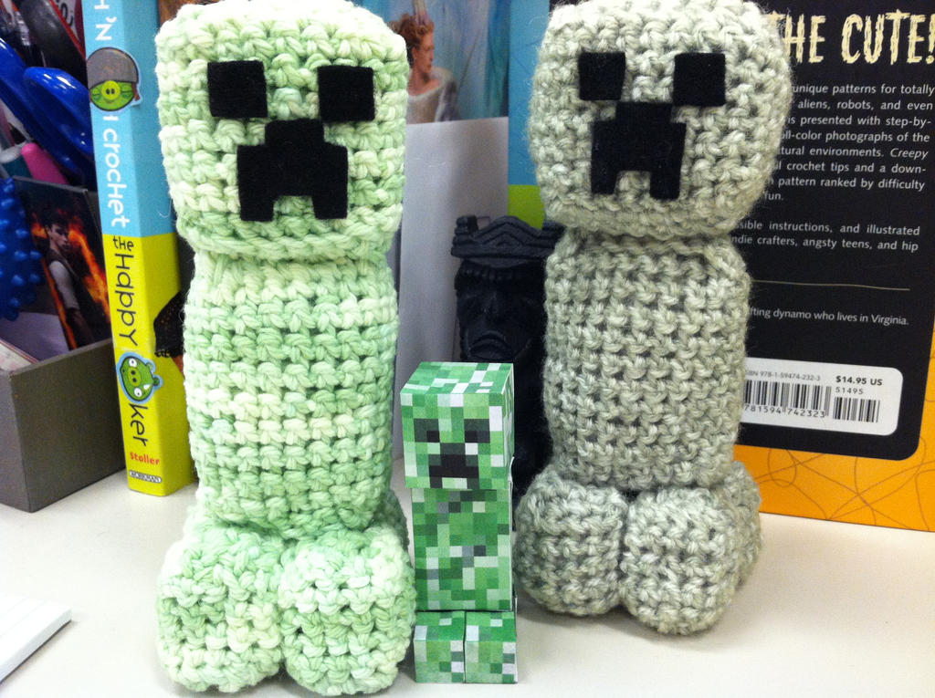 Crochet Creeper from Minecraft | Star wars crochet, Minecraft ... | 765x1024