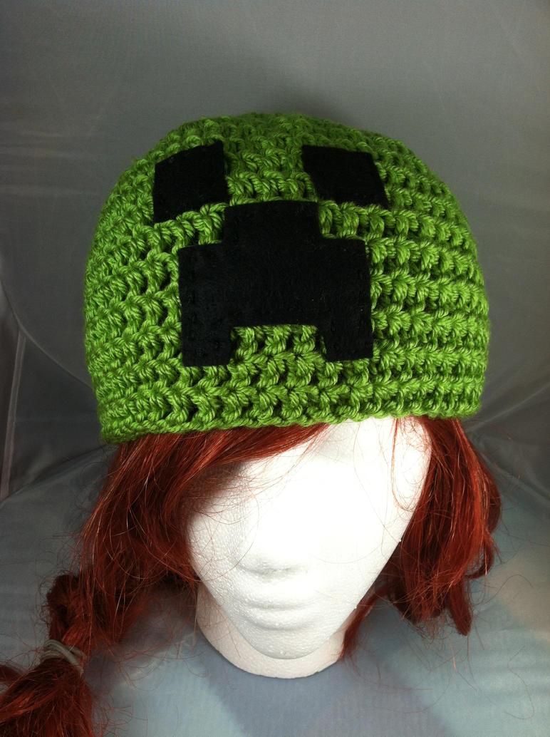 Minecraft creeper hat by NerdStitch on DeviantArt