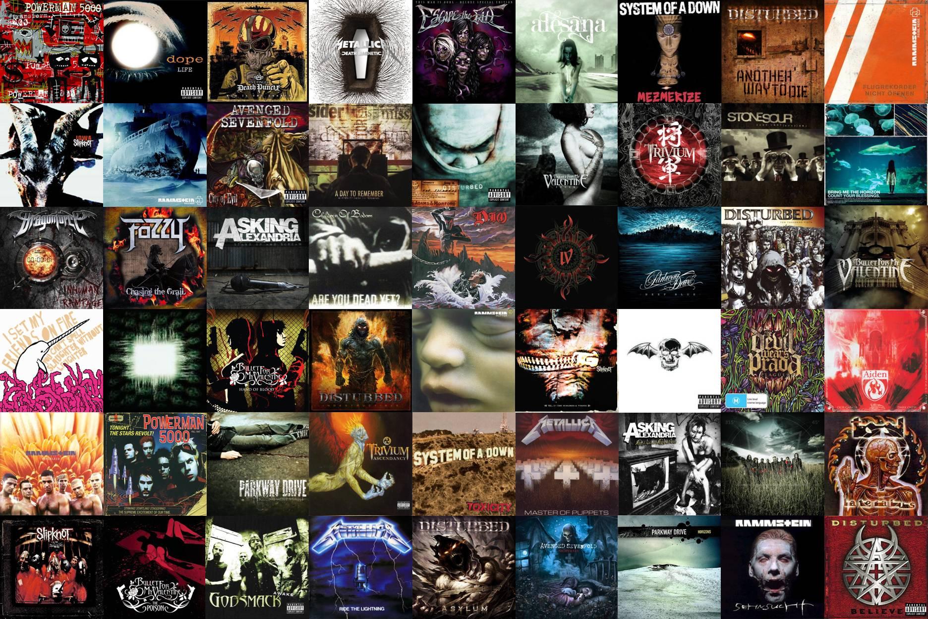 Metal Album Covers by FacadeOfLife on DeviantArt | 1872 x 1248 jpeg 494kB