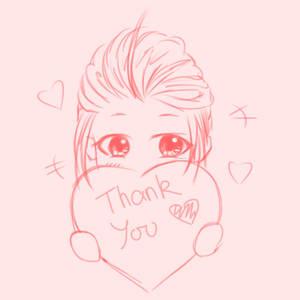 Thank you - sweet sixteen