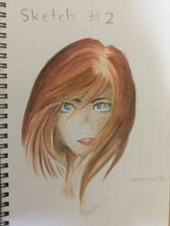 Journal sketch - Ember