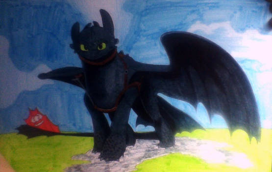 Toothless by ShadowDragon6114
