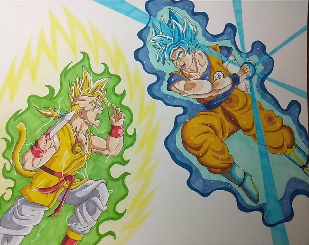 Vertigo vs Goku by ShadowDragon6114