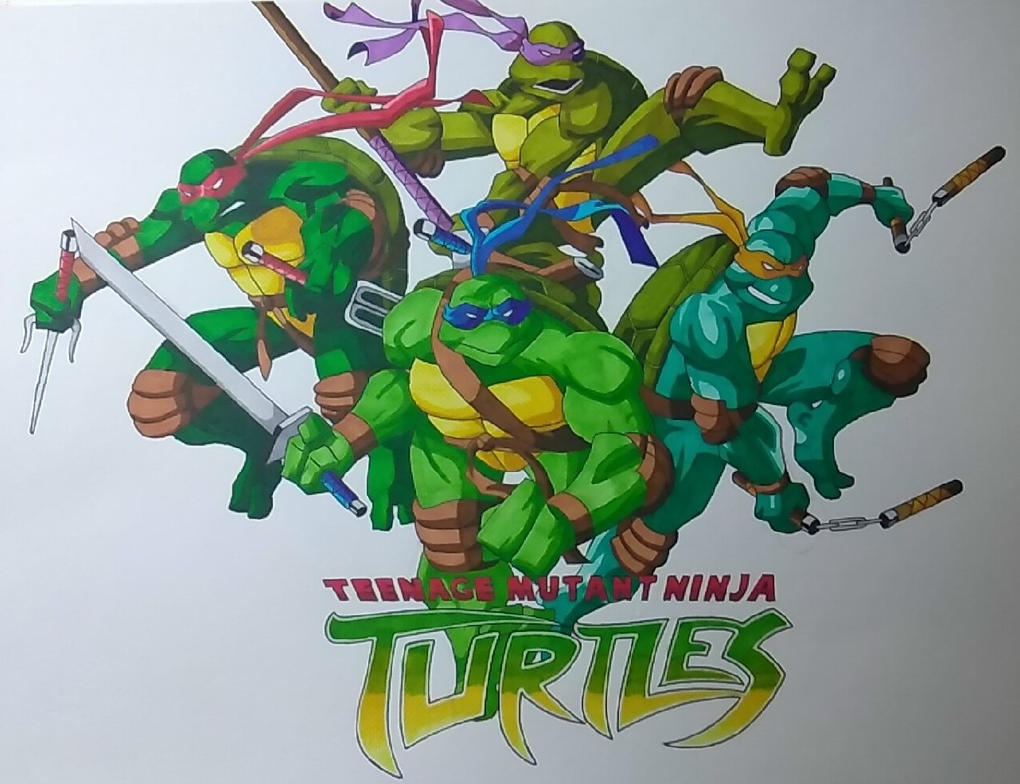 TMNT by ShadowDragon6114