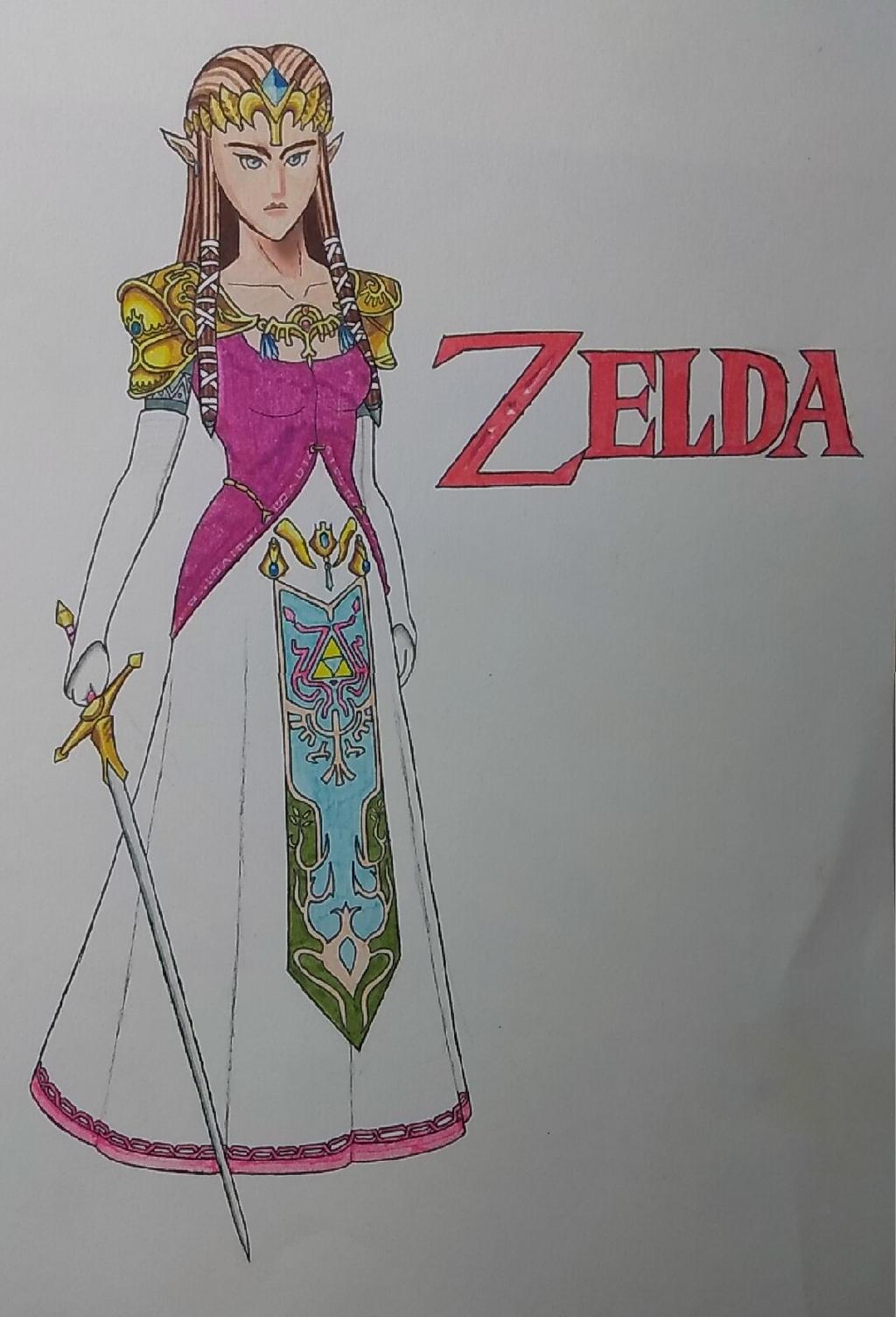 Zelda by ShadowDragon6114
