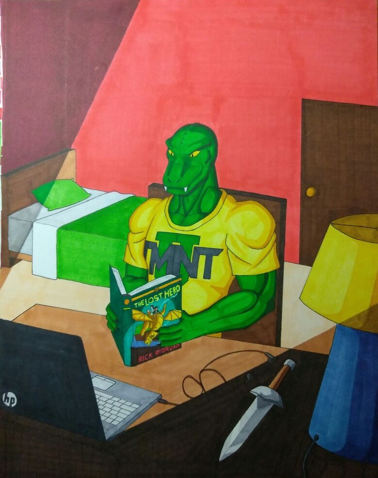 Randy Monson Reading Week by ShadowDragon6114