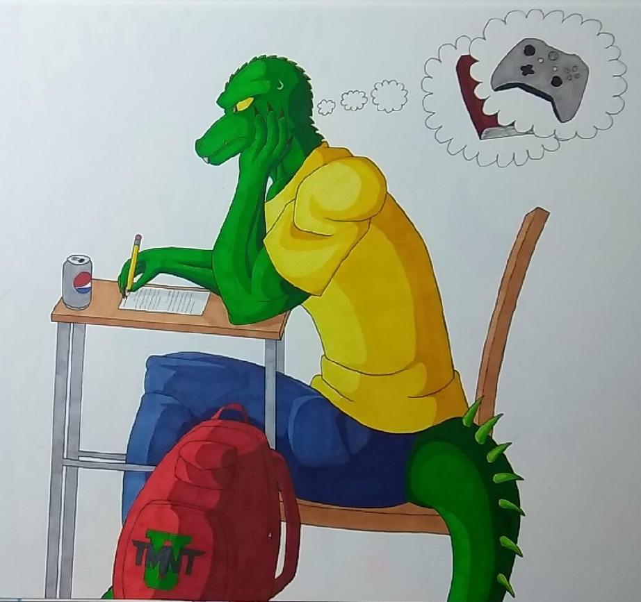 Randy Monson Exams by ShadowDragon6114