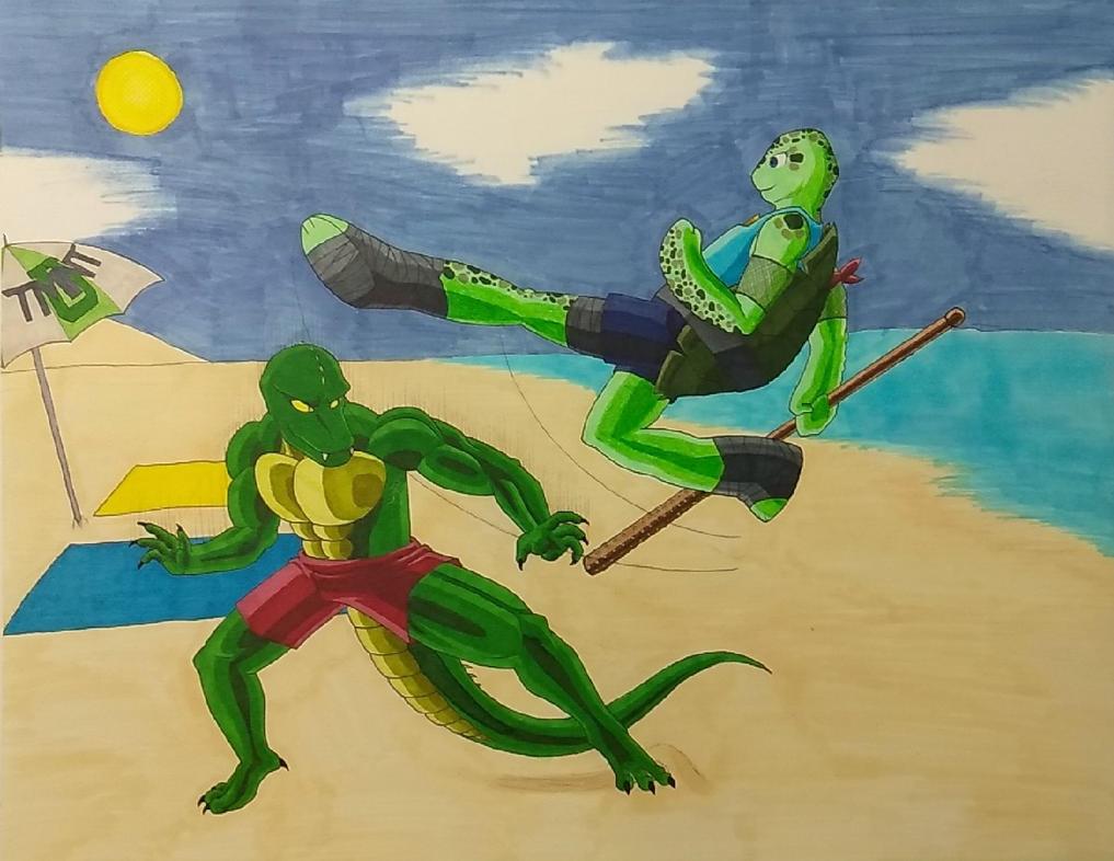 Randy vs Lulu by ShadowDragon6114