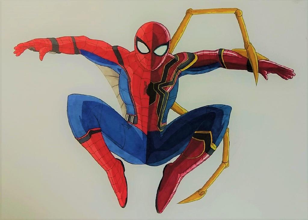 Spider-Man Split by ShadowDragon6114