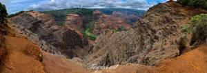 Waimea Canyon Pano II
