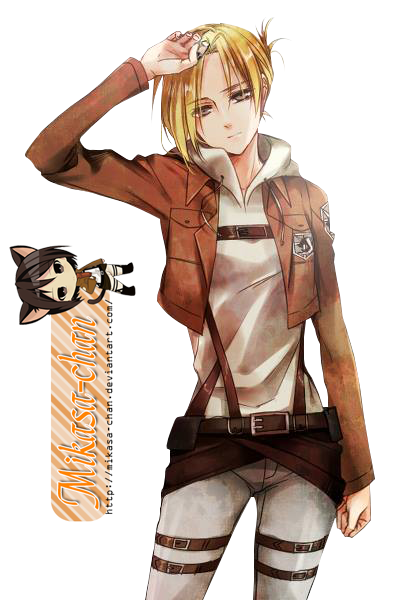Renders anime Shingeki_no_kyojin_annie_leonhardt_render_by_mikasa_chan-d6fgwm2