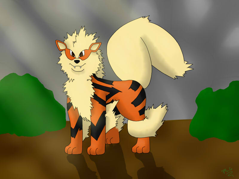 Arcanine by Squiggy13