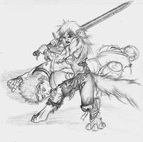 shissa fighting by Darkdarius