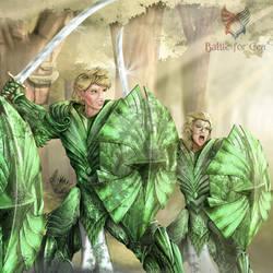 Guerreras esmeraldas by Darkdarius