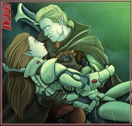 Eldar love by Darkdarius
