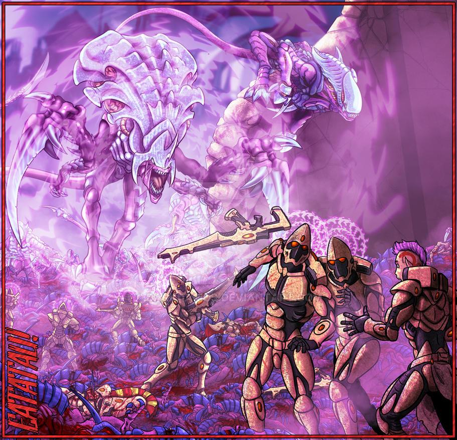 Psionic raw power by Darkdarius