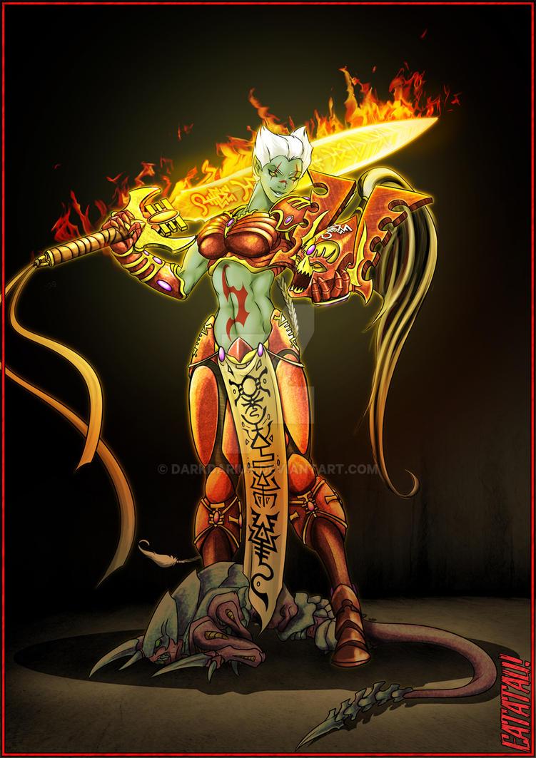 Avatar cosplay by Darkdarius