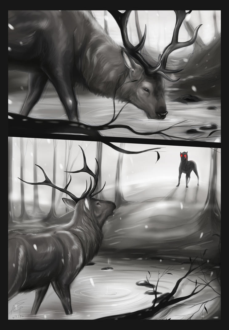 The Greyhound Forest by SophiAlePou