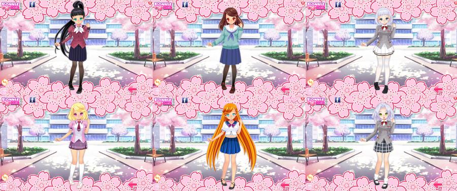 More Schoolgirl Goddesses by NekoMimiStudios