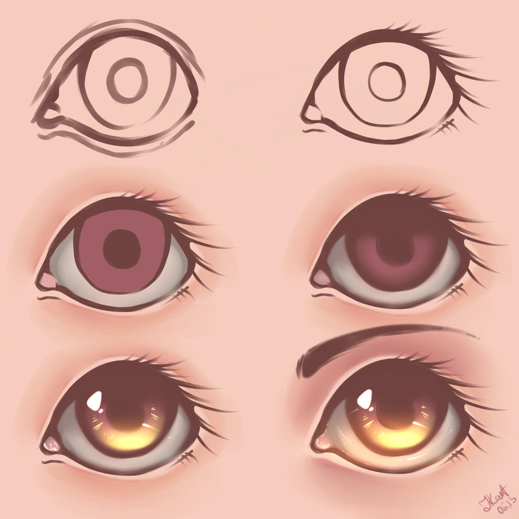 Eyes - Tutorial [2] by julcha97