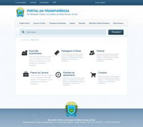 Portal da Transparencia Ministerio Publico de MS by renanteles