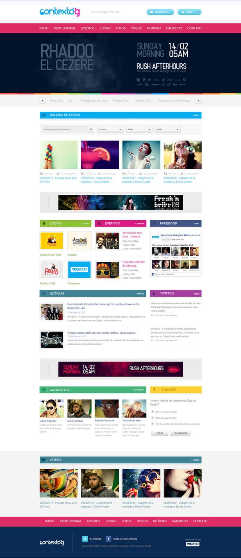 Layout Portal ContextoG by renanteles