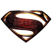 DCEU SUPERMAN MAN OF STEEL LOGO TRANSPARENT by SiddharthSIDMO2