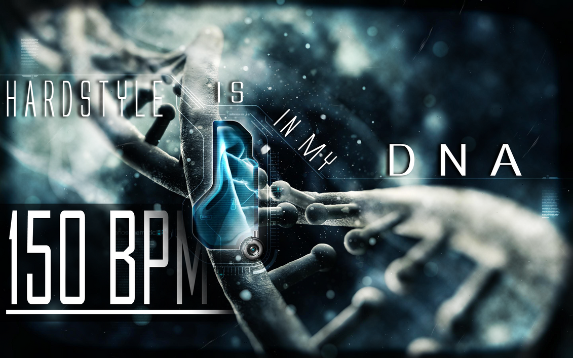Hardstyle is in my dna wallpaper by h4rdc0r3lover on - Is wallpaper in style ...