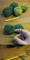 crochet a peasecod
