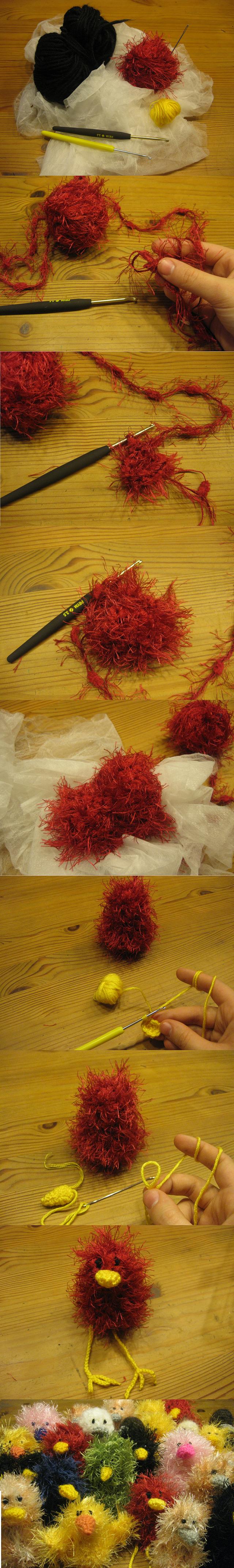 Tutorial Crochet Bird by Twinsmanns