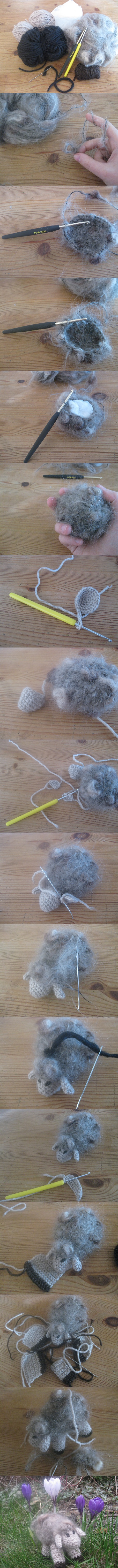 Tutorial Crochet Sheep by Twinsmanns