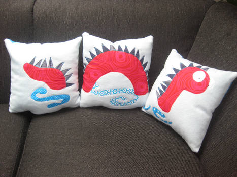 Loch Ness Monster Pillow