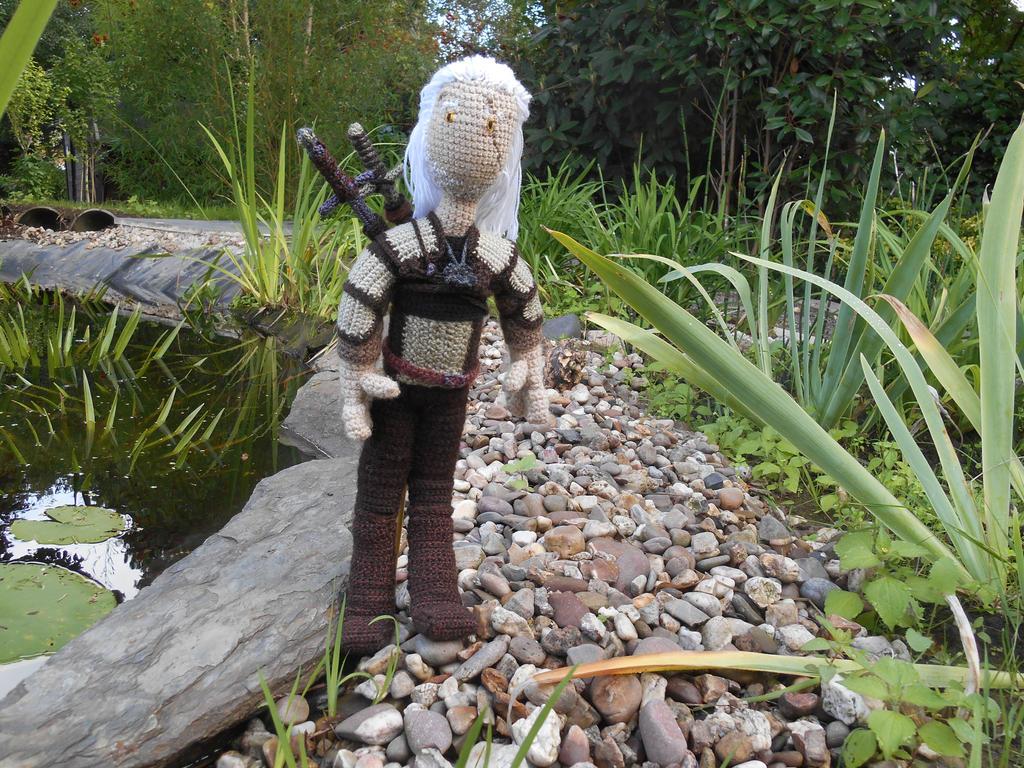 crochet Geralt of Rivia - Witcher by Twinsmanns