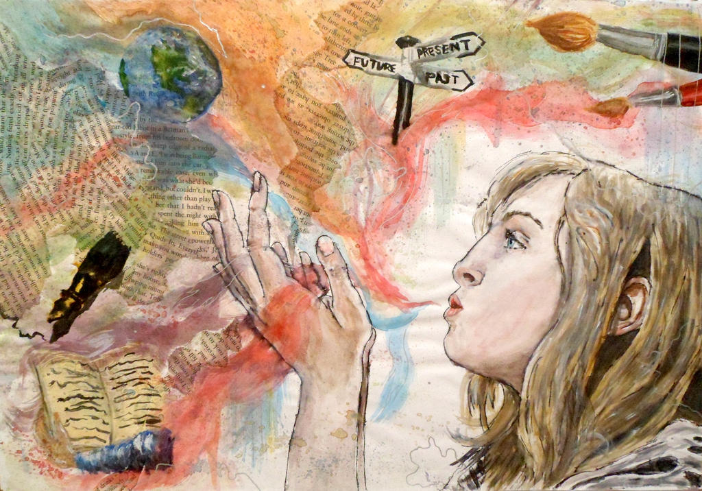 GCSE ART: Me, Myself and I Final Piece by DaintyStain on ...