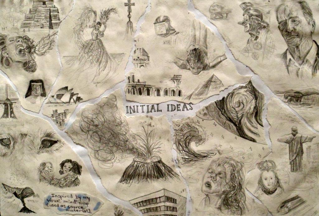 GCSE ART YEAR 11: Initial Ideas by DaintyStain on DeviantArt Ear Sketches