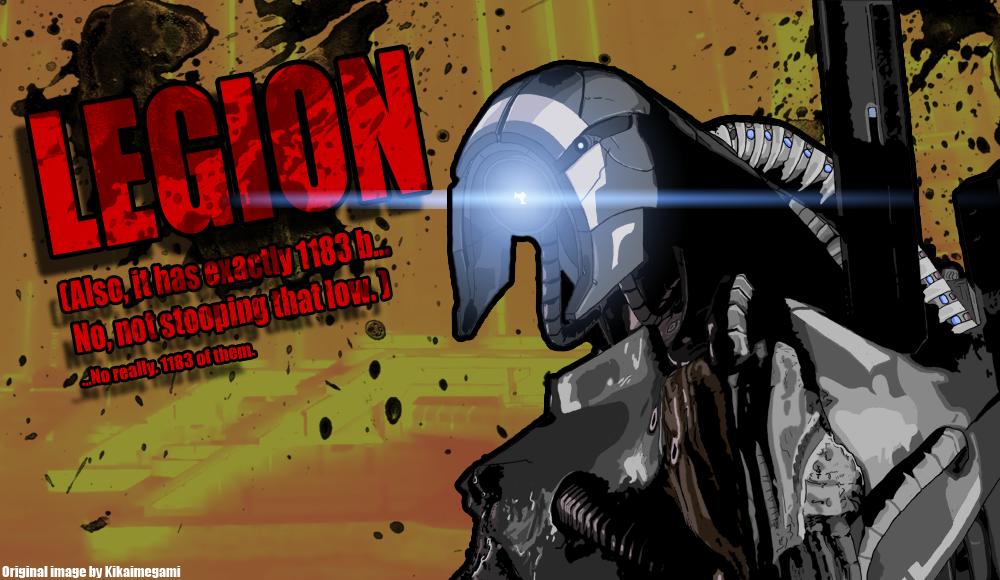 Legion, Borderlands Mode by Hiroplex