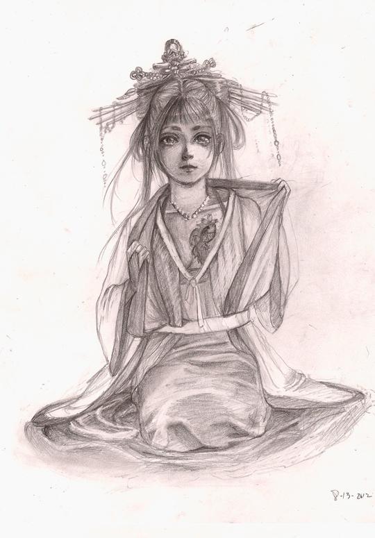 Asian Girl by naru