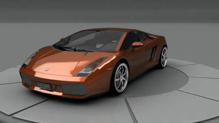 Lamborghini Gallardo by Ixionx