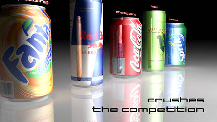 X-treem Energy Drink Advert 3 by Ixionx